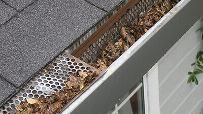 Bad Gutter Guards in Crouse