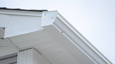 Installed GutterShutter System Huntersville